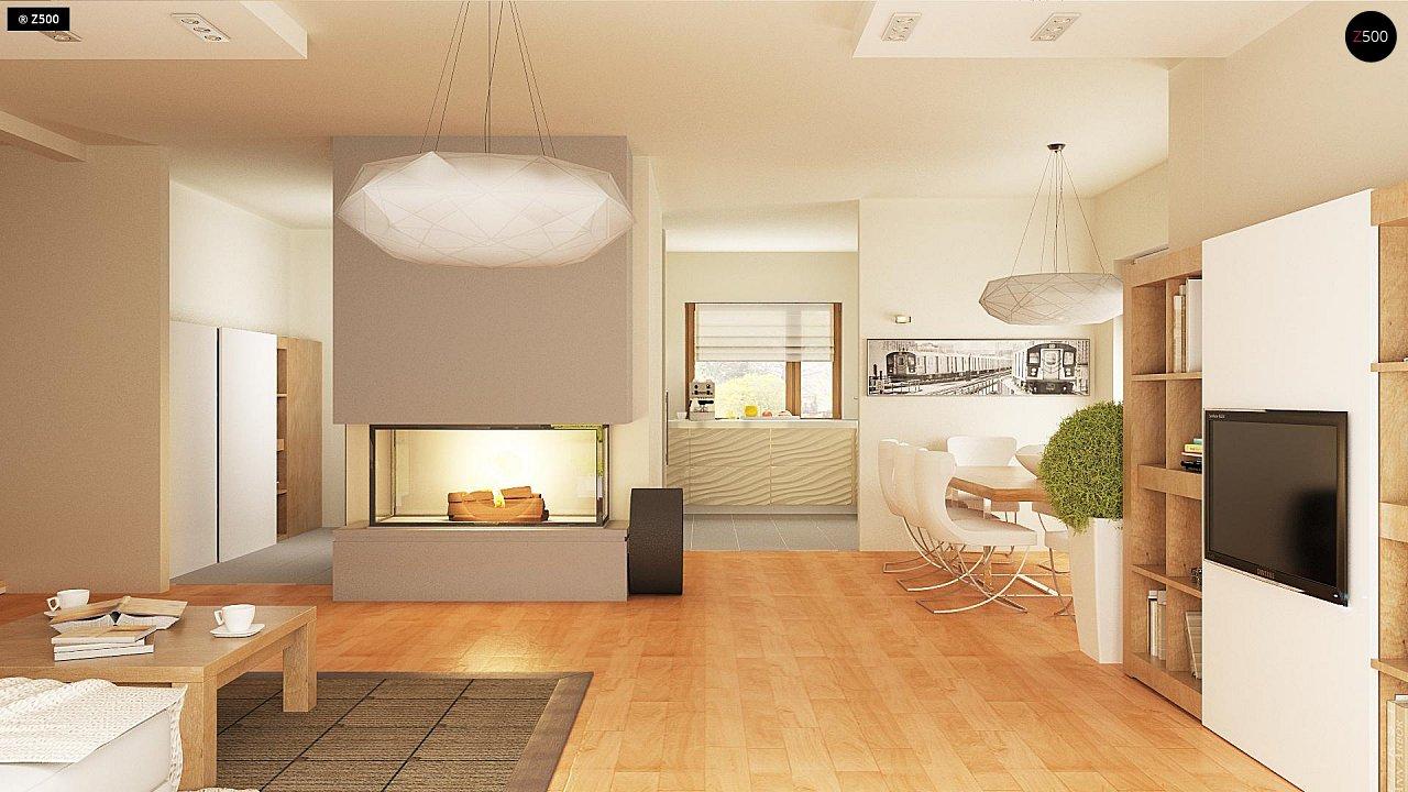 Версия проекта Z270 с альтернативной планировкой мансардного этажа. 9
