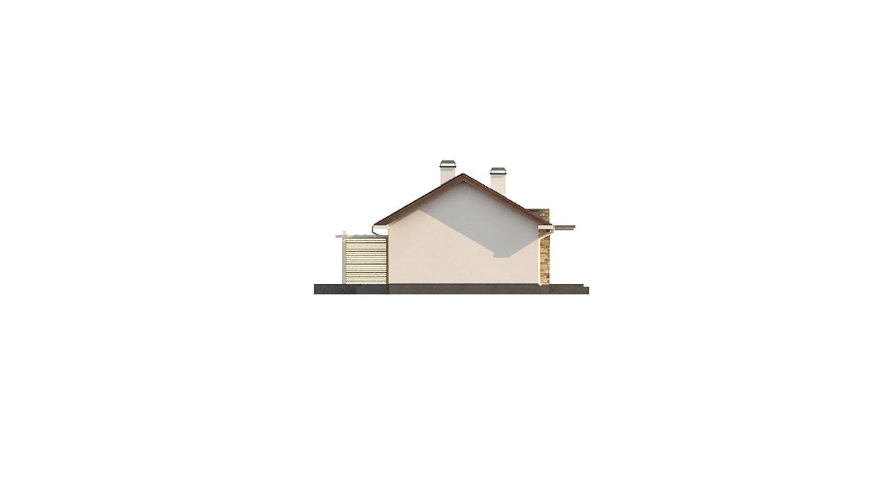 Простой и элегантный одноэтажный дом. 9