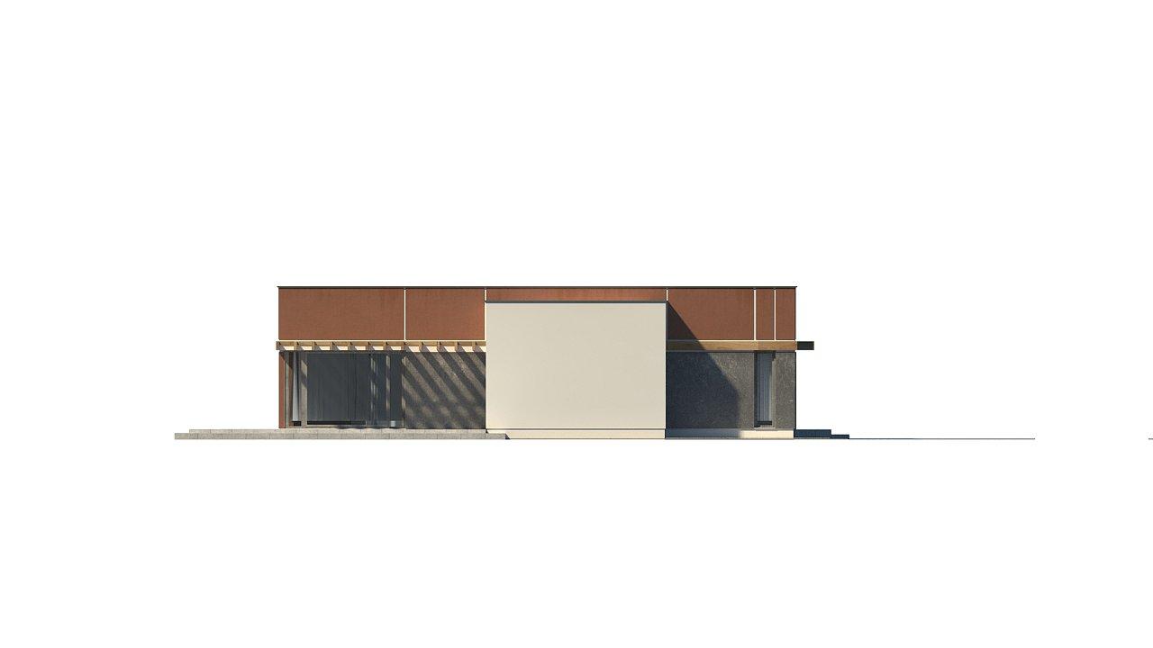 Одноэтажный дом в стиле хай-тек с четырьмя спальнями. - фото 31