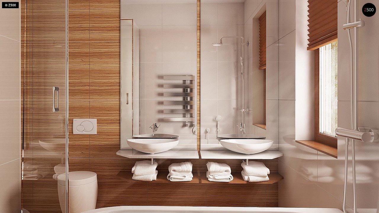 Проект практичного одноэтажного дома в традиционном стиле. 12