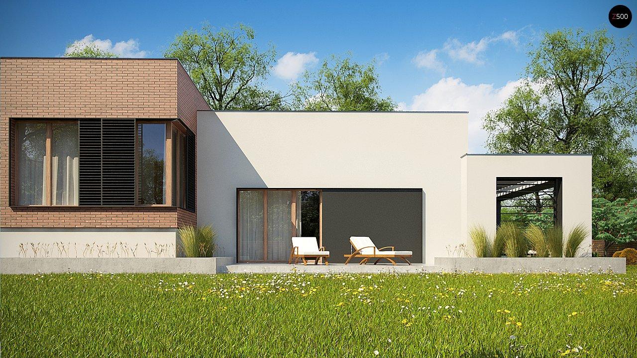 Современный дом минималистичного дизайна с подвалом - фото 10