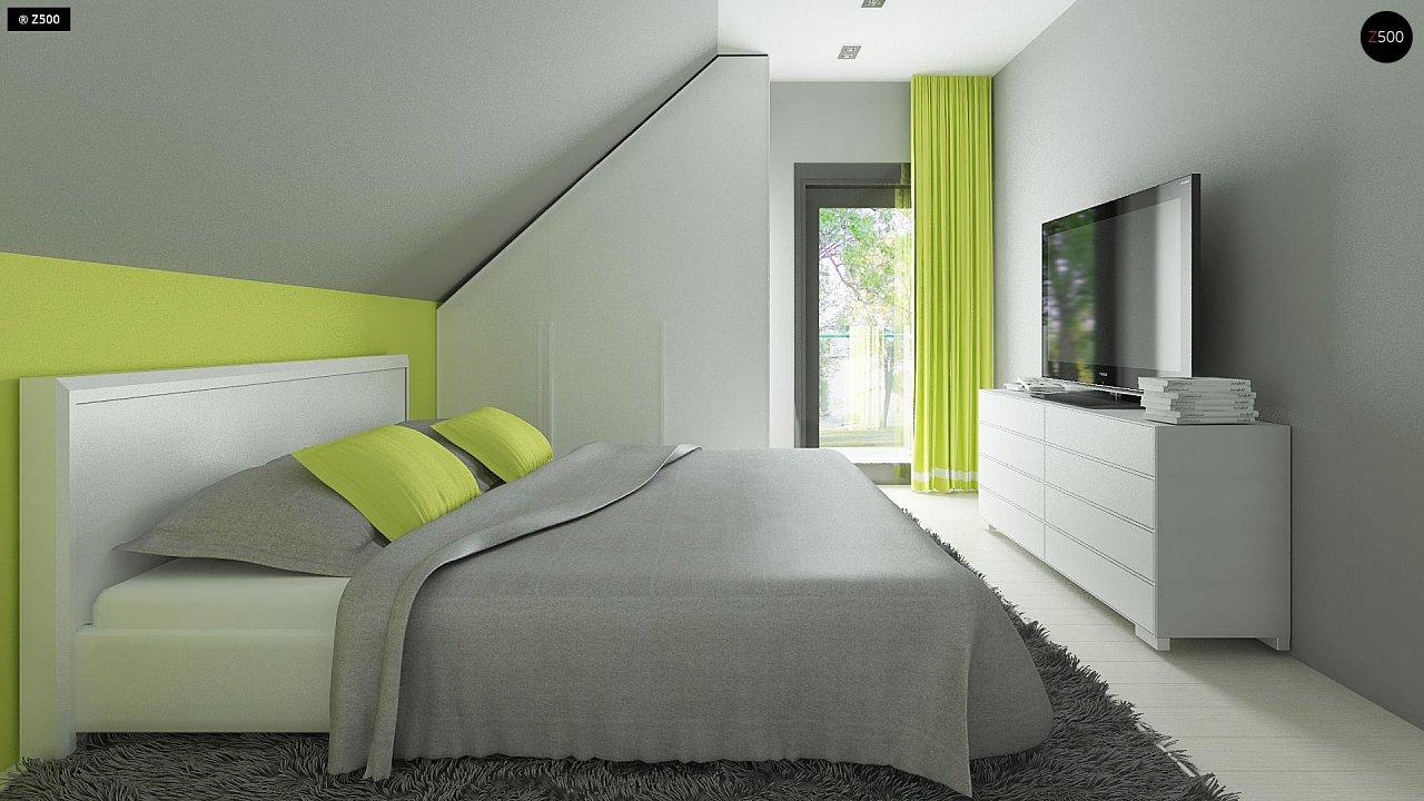 Компактный и удобный дом традиционной формы, подходящий, также, для узкого участка. 10