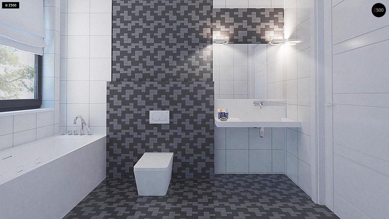 Проект стильного одноэтажного дома с функциональной планировкой - фото 16