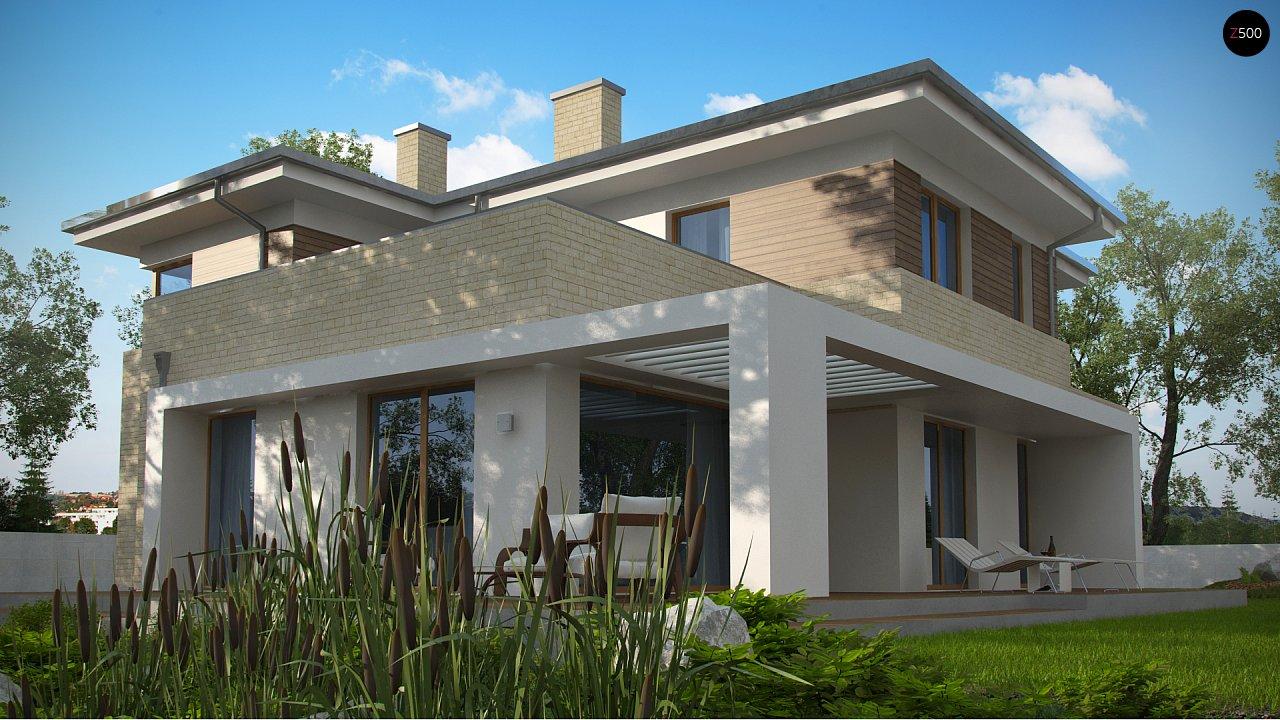 Современный комфортный двухэтажный дом с баней 7