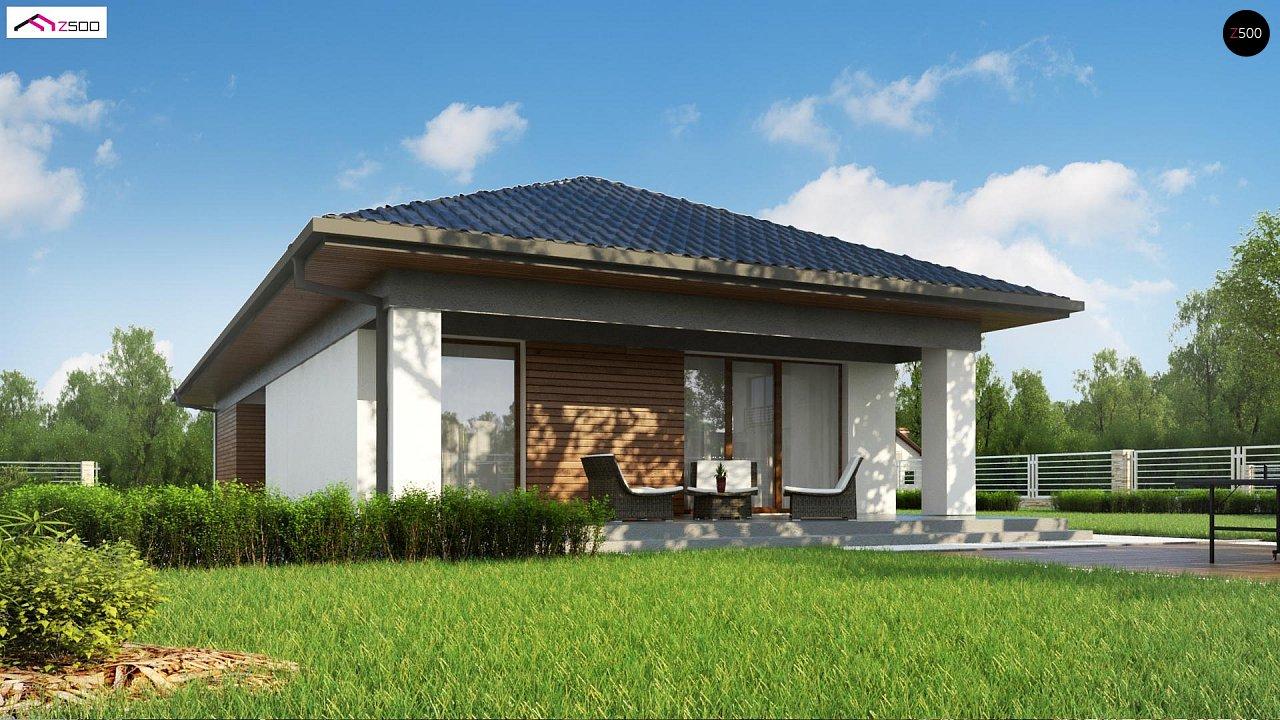 Проект уютного одноэтажного дома с 3 спальнями 6