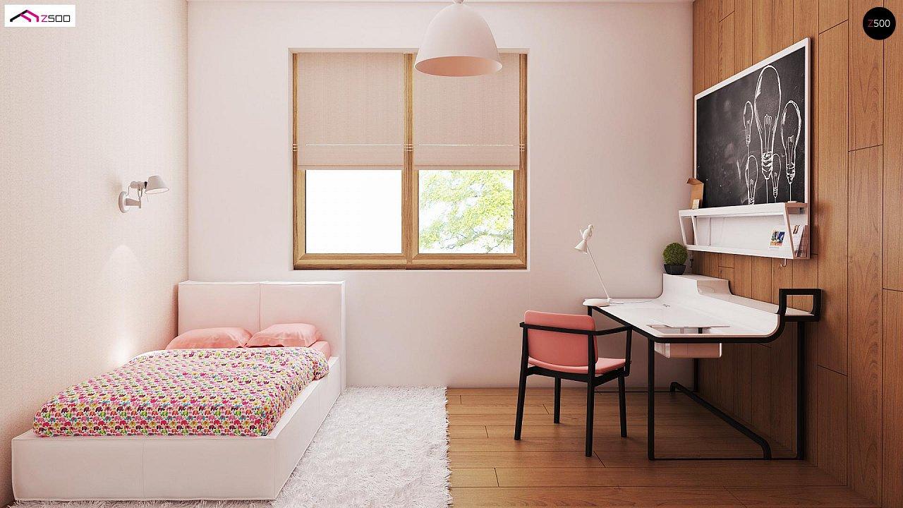 Выгодный и простой в строительстве дом полезной площадью 100 м2. 9