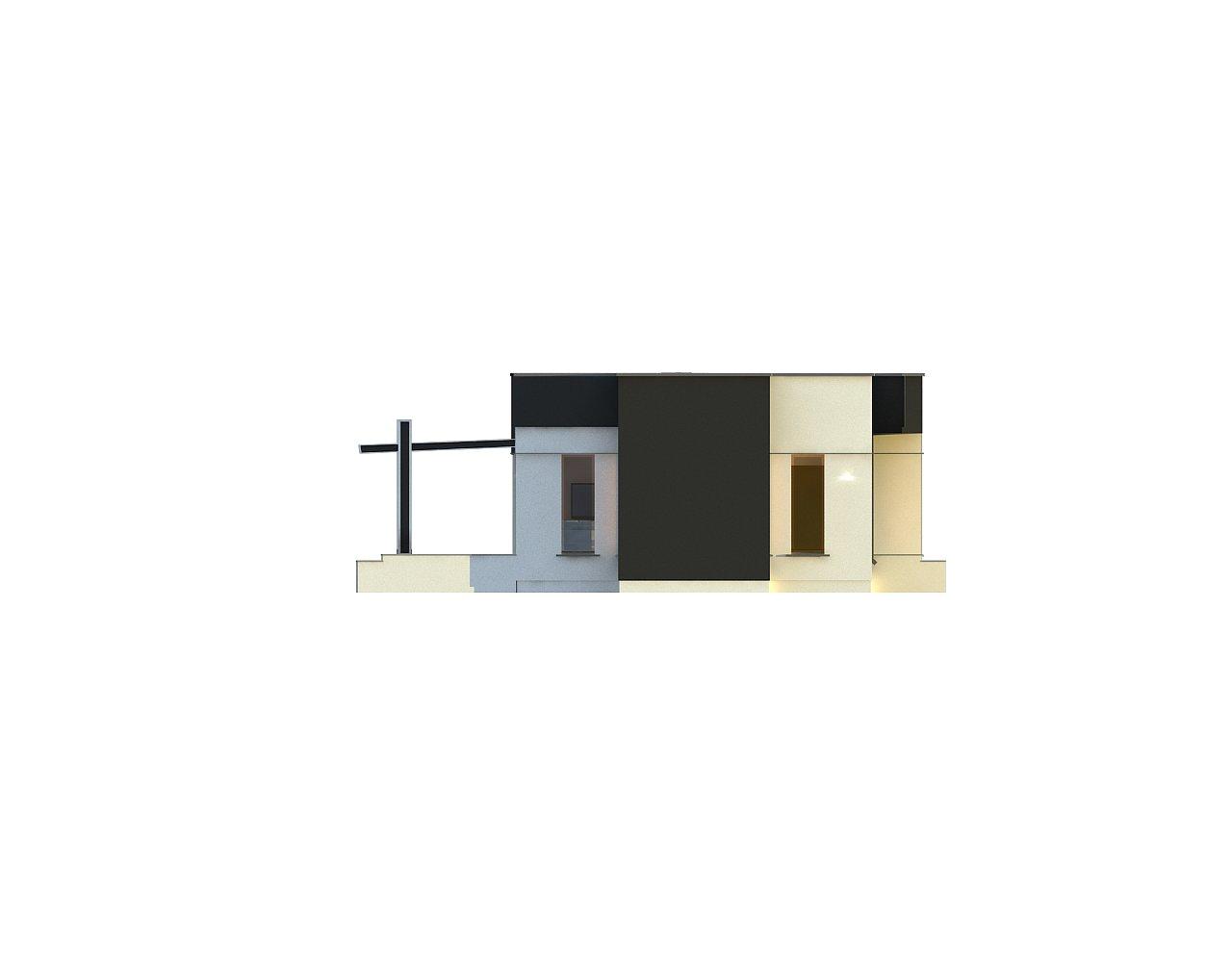 Одноэтажный комфортный дом в стиле хай-тек. 25