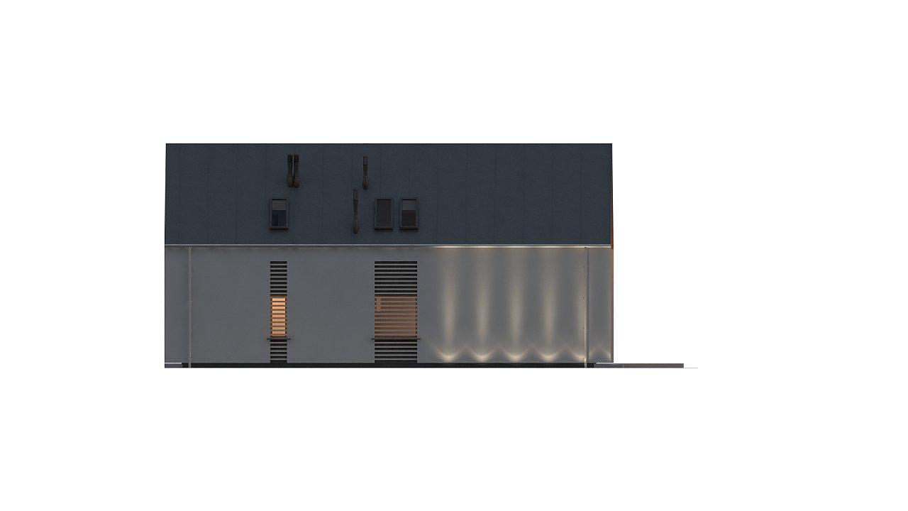 Современный мансардный дом с гаражом на две машины - фото 9