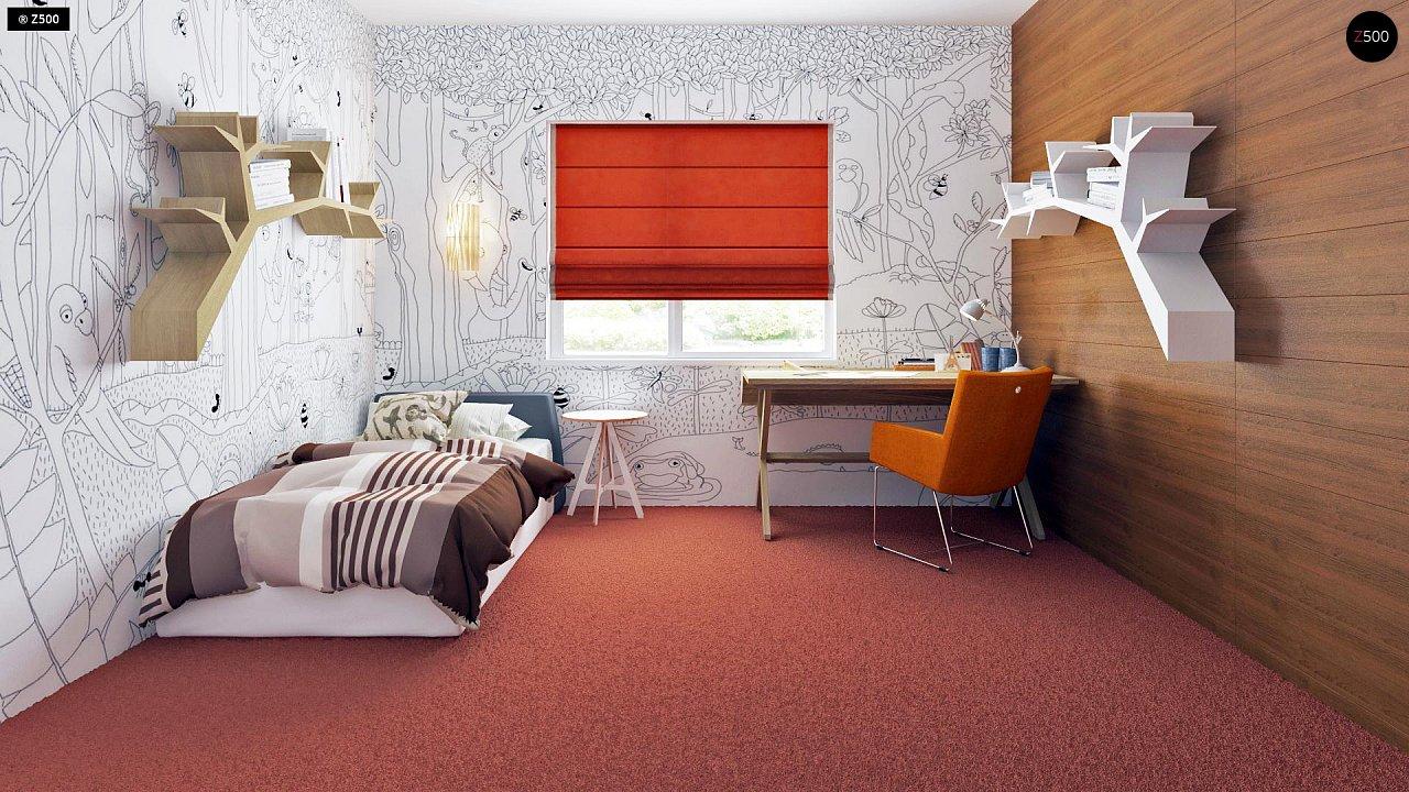 Просторный одноэтажный дом с тремя спальнями и большим гаражом. 11