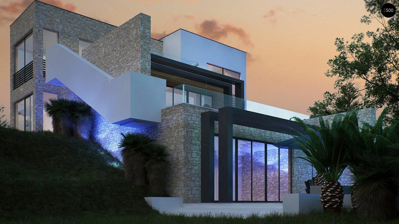 Трехэтажная современная резиденция с террасами и бассейном . 5