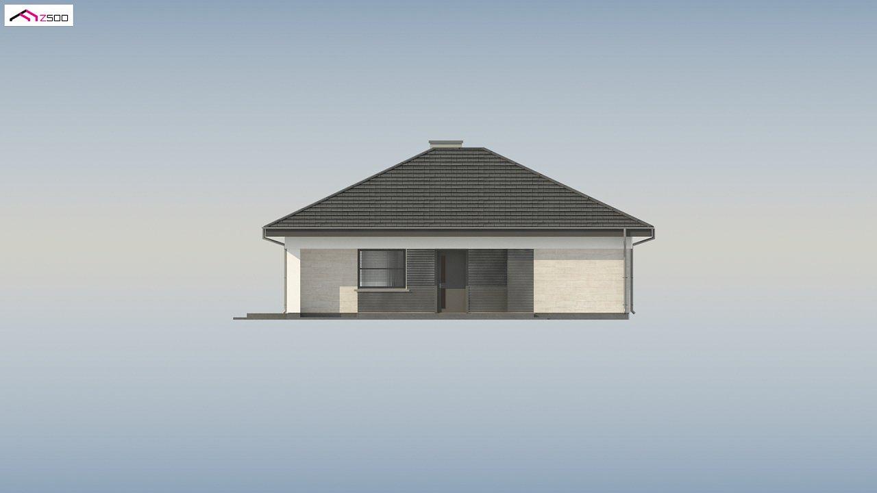 Проект компактного и функционального одноэтажного дома 17