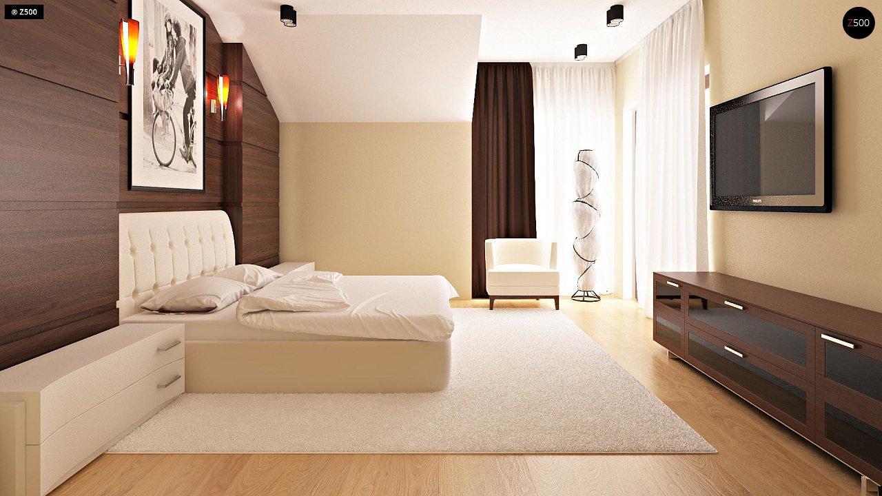 Компактные дома близнецы в современном стиле с уютным интерьером. 10