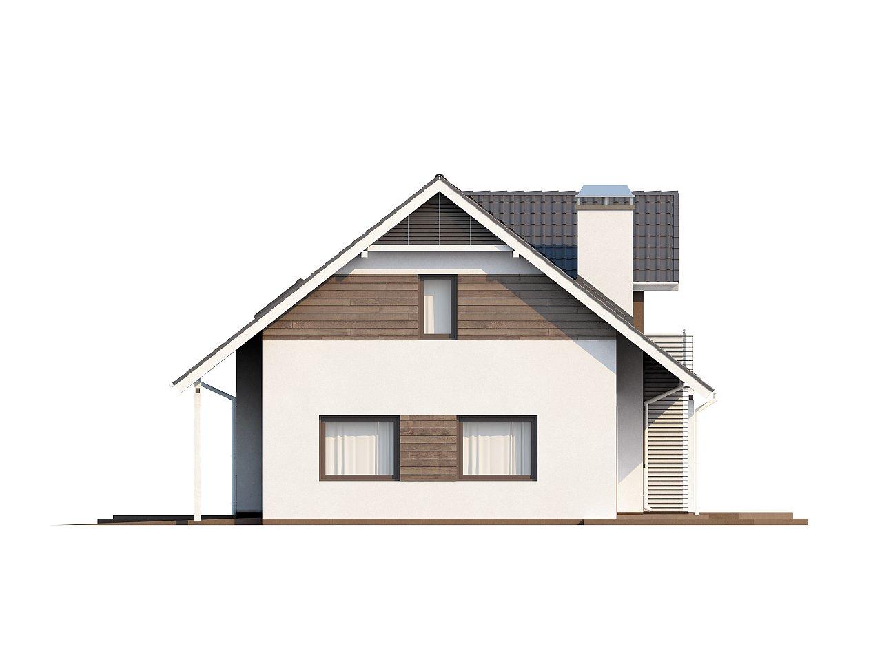 Комфортабельный дом со встроенным гаражом, угловой террасой и кабинетом на первом этаже. - фото 6