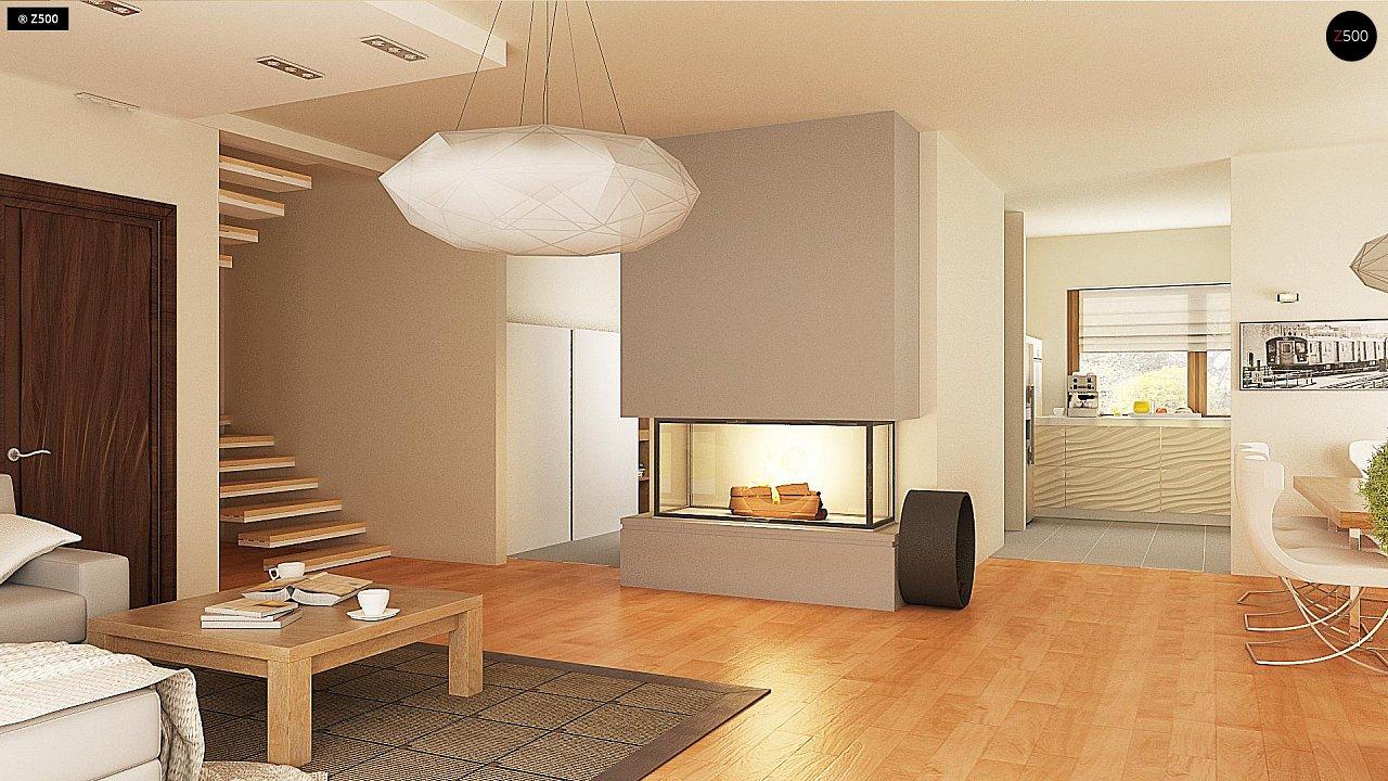 Версия проекта Z270 с альтернативной планировкой мансардного этажа. 11