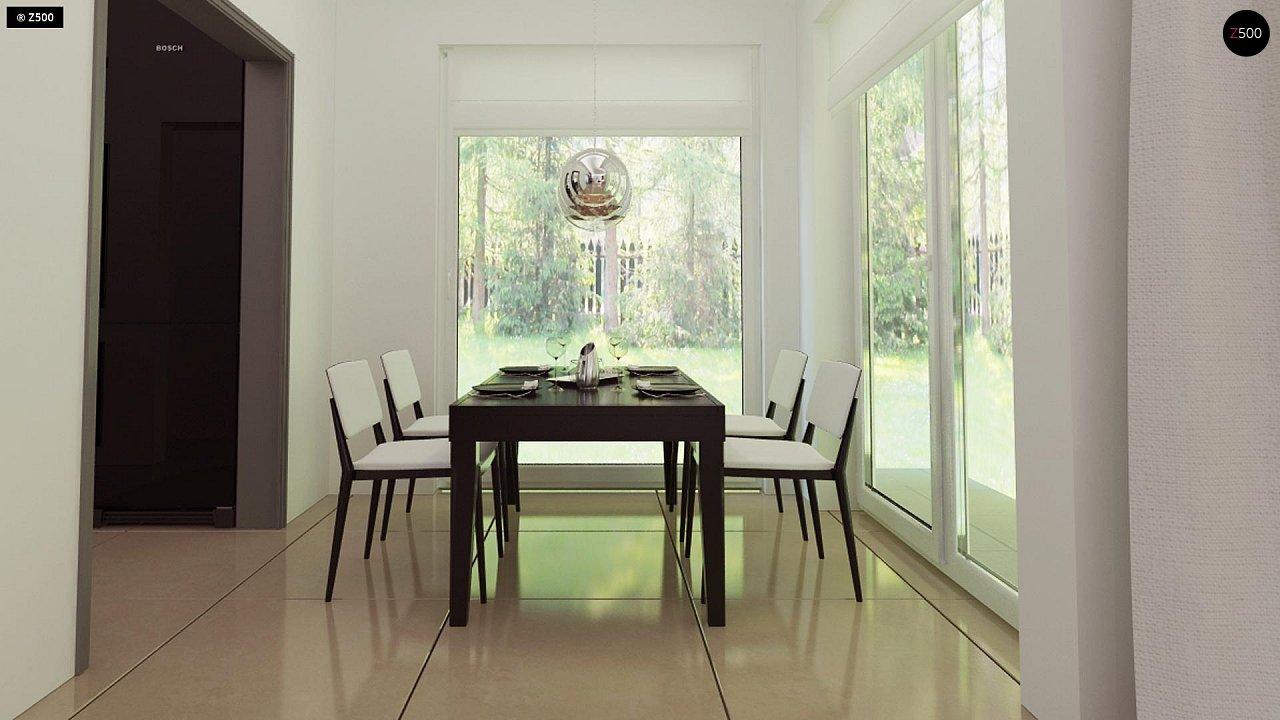 Комфортный дом привлекательного дизайна с дополнительной комнатой над гаражом. 10