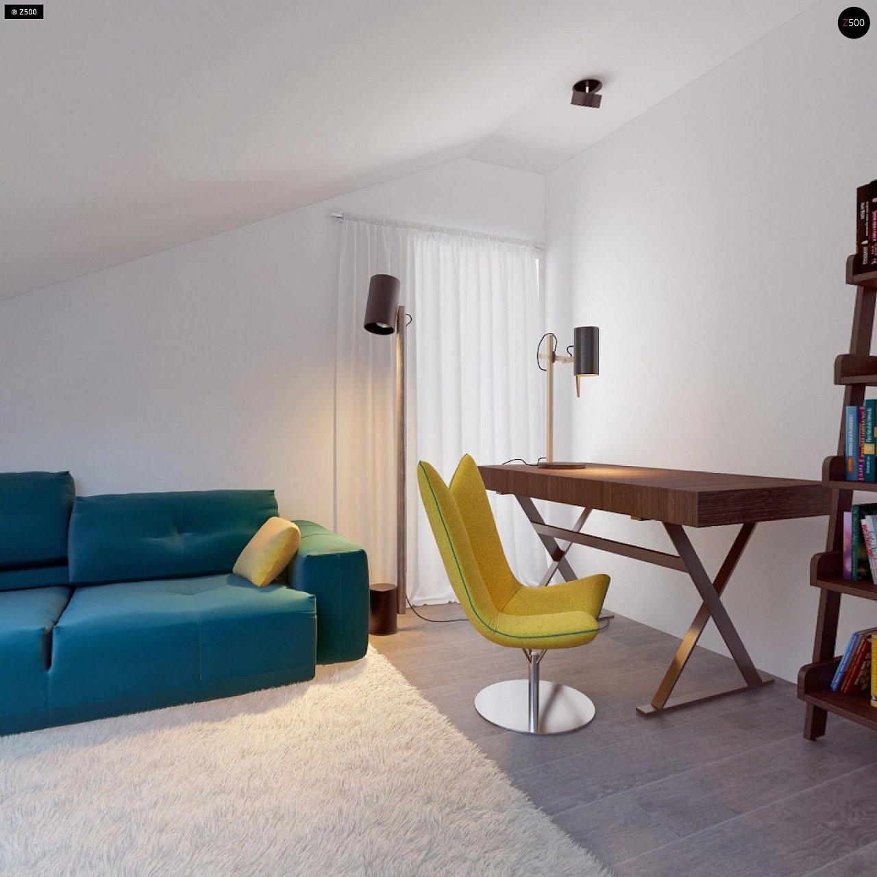 Проект функционального и удобного дома с комнатой над гаражом. 19