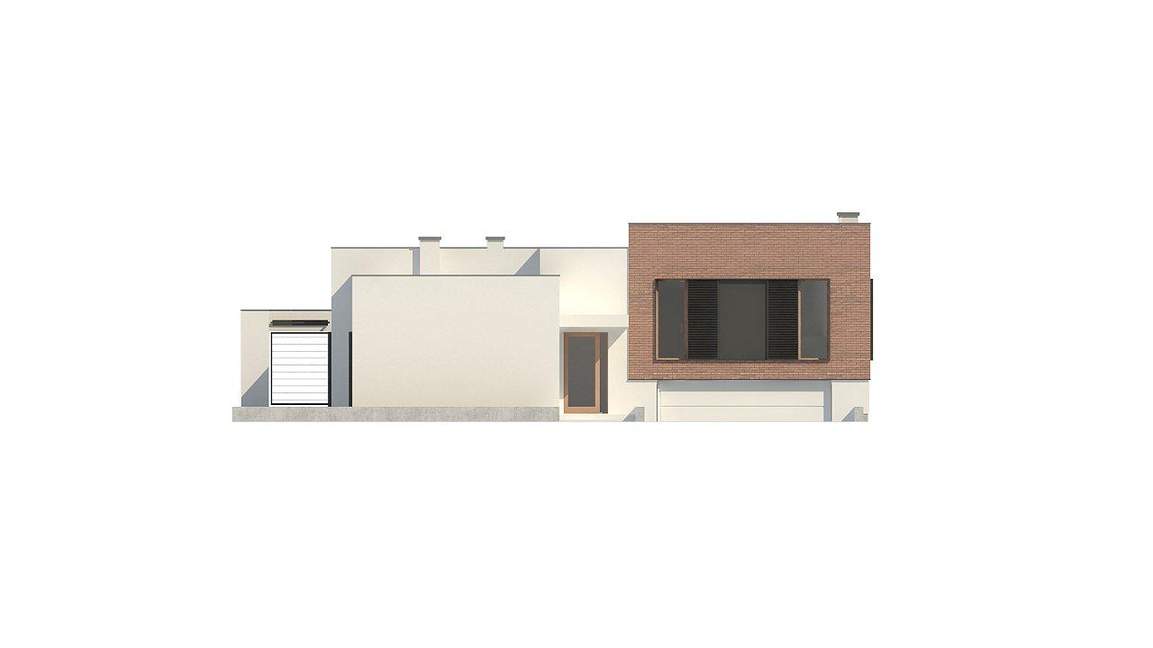 Современный дом минималистичного дизайна с подвалом - фото 11