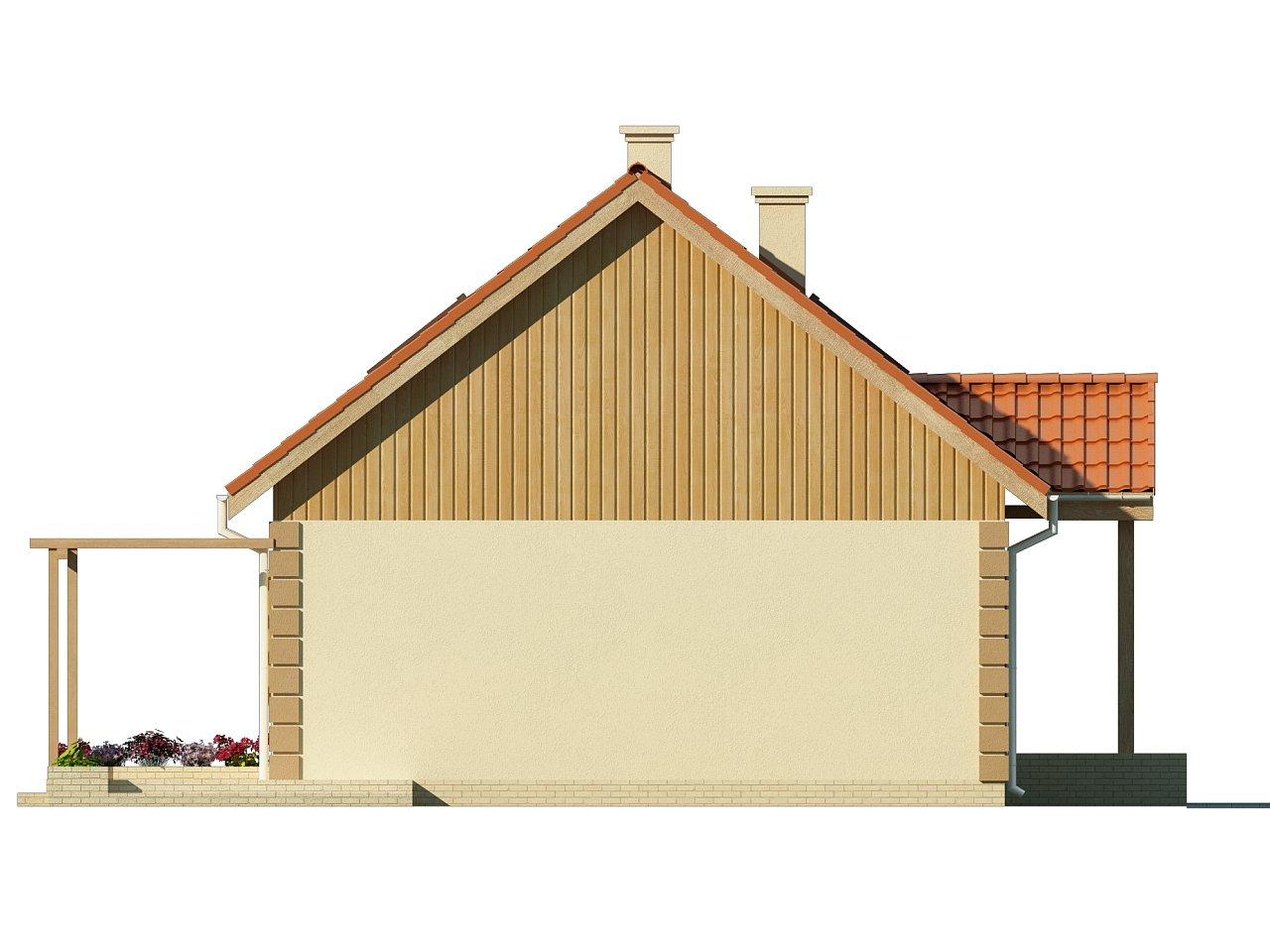 Функциональный и уютный дом с дополнительной спальней на первом этаже. Простой и экономичный в строительстве. 12