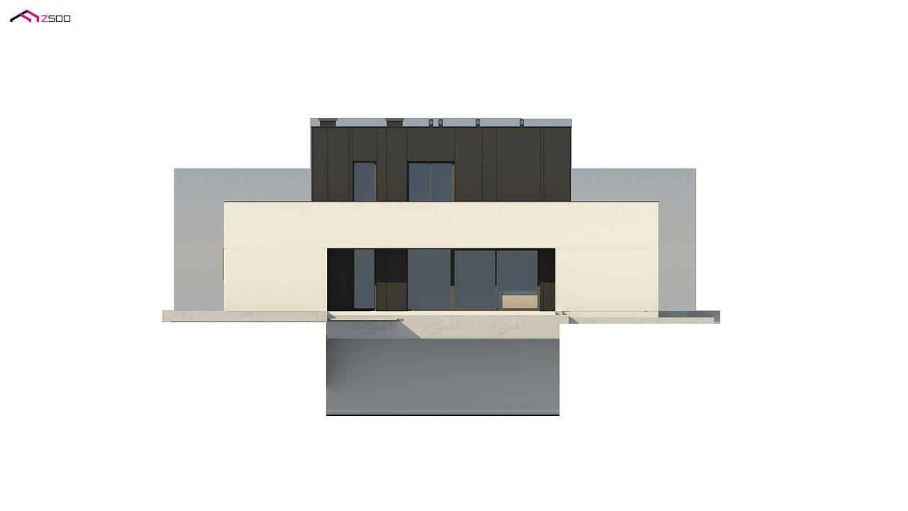 Дом в современном стиле с подвалом 9