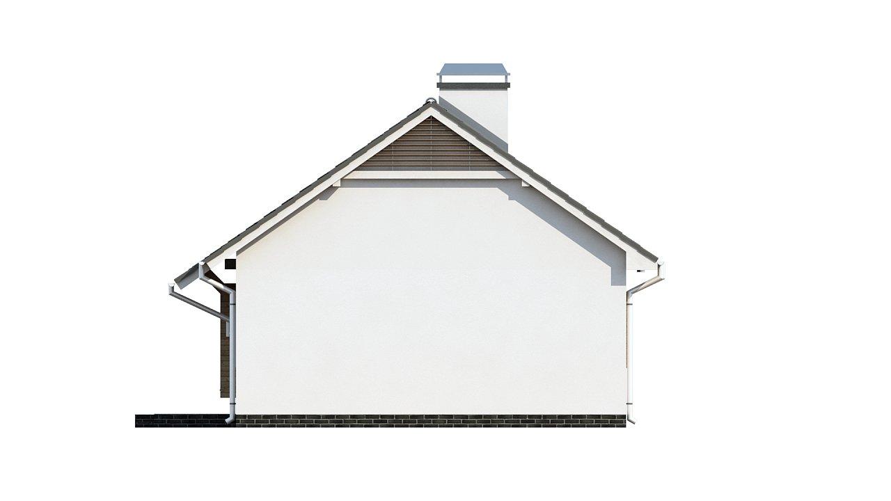 Маленький и функциональный одноэтажный дом, выгодный в строительстве и эксплуатации. - фото 11