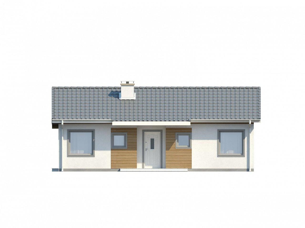 Функциональный и практичный проект дома Z7 в каркасном исполнении - фото 23