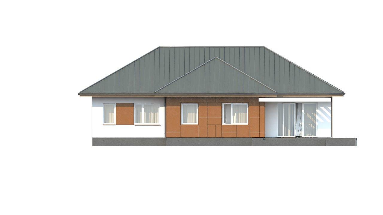 Комфортный одноэтажный дом в традиционном стиле. 11