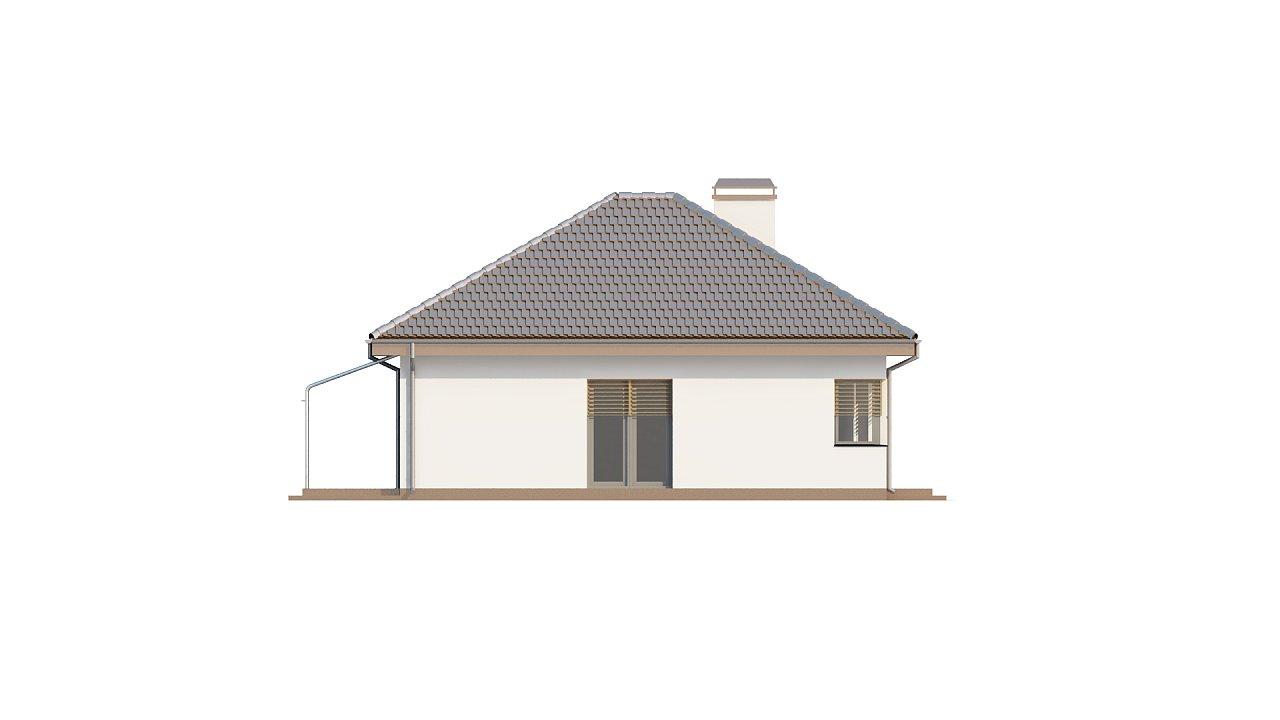 Функциональный удобный дом с гаражом на два автомобиля и большим хозяйственным помещением. - фото 4