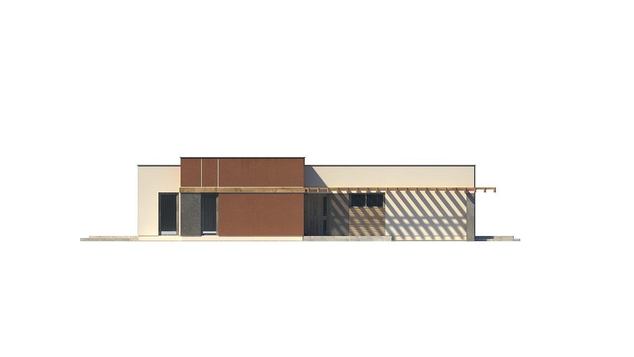 Одноэтажный дом в стиле хай-тек с четырьмя спальнями. - фото 29
