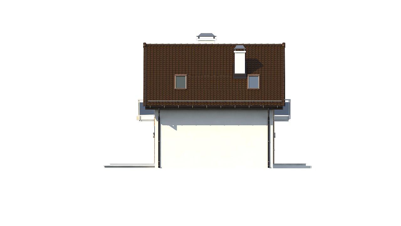 Компактный, аккуратный и стильный дом с двумя спальнями. - фото 16