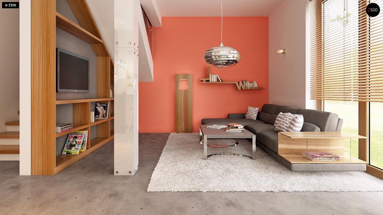 Компактный, аккуратный и стильный дом с двумя спальнями. - фото 5