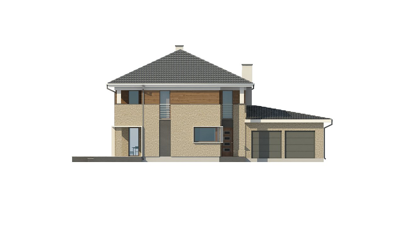 Комфортная двухэтажная усадьба с гаражом на 2 авто, с сауной на 1 этаже - фото 10