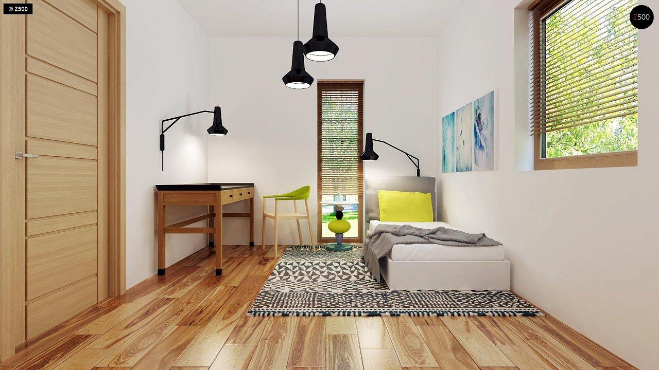Небольшой дом из газобетона в стиле хай-тек — элегантный, практичный и экономичный. - фото 19