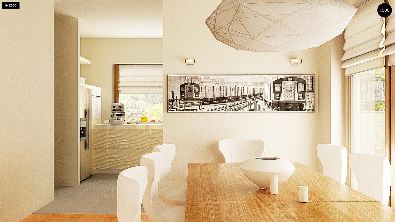 Версия проекта Z270 с альтернативной планировкой мансардного этажа. 12