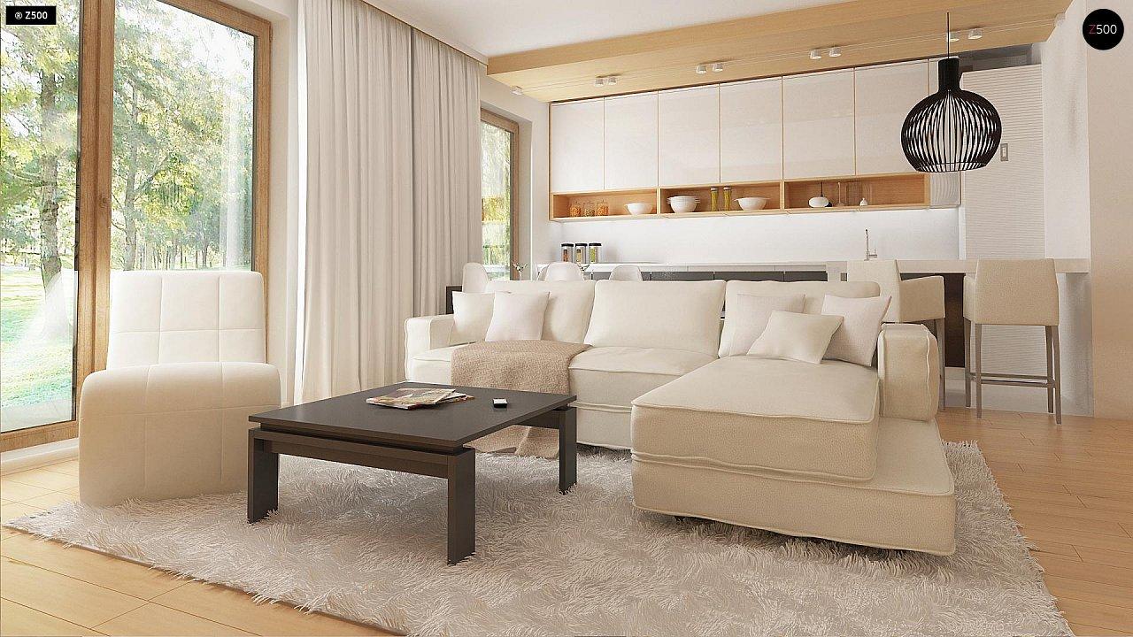 Новый вариант проекта Z38 - уютного двухэтажного дома. 5