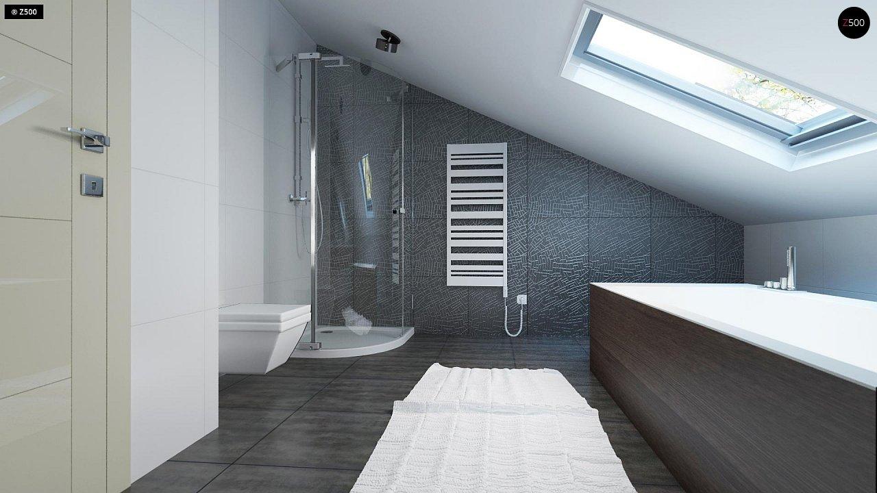 Проект функционального и удобного дома с комнатой над гаражом. 14