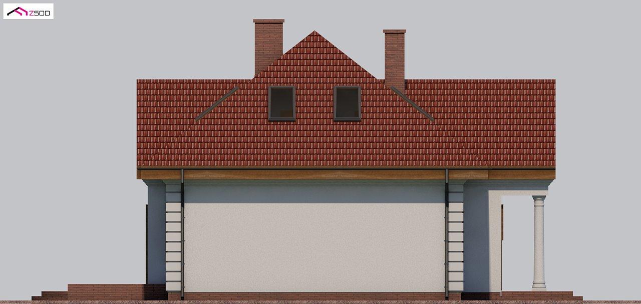 Проект дома в классическом стиле с роскошной мансардой и стильным экстерьером. - фото 20