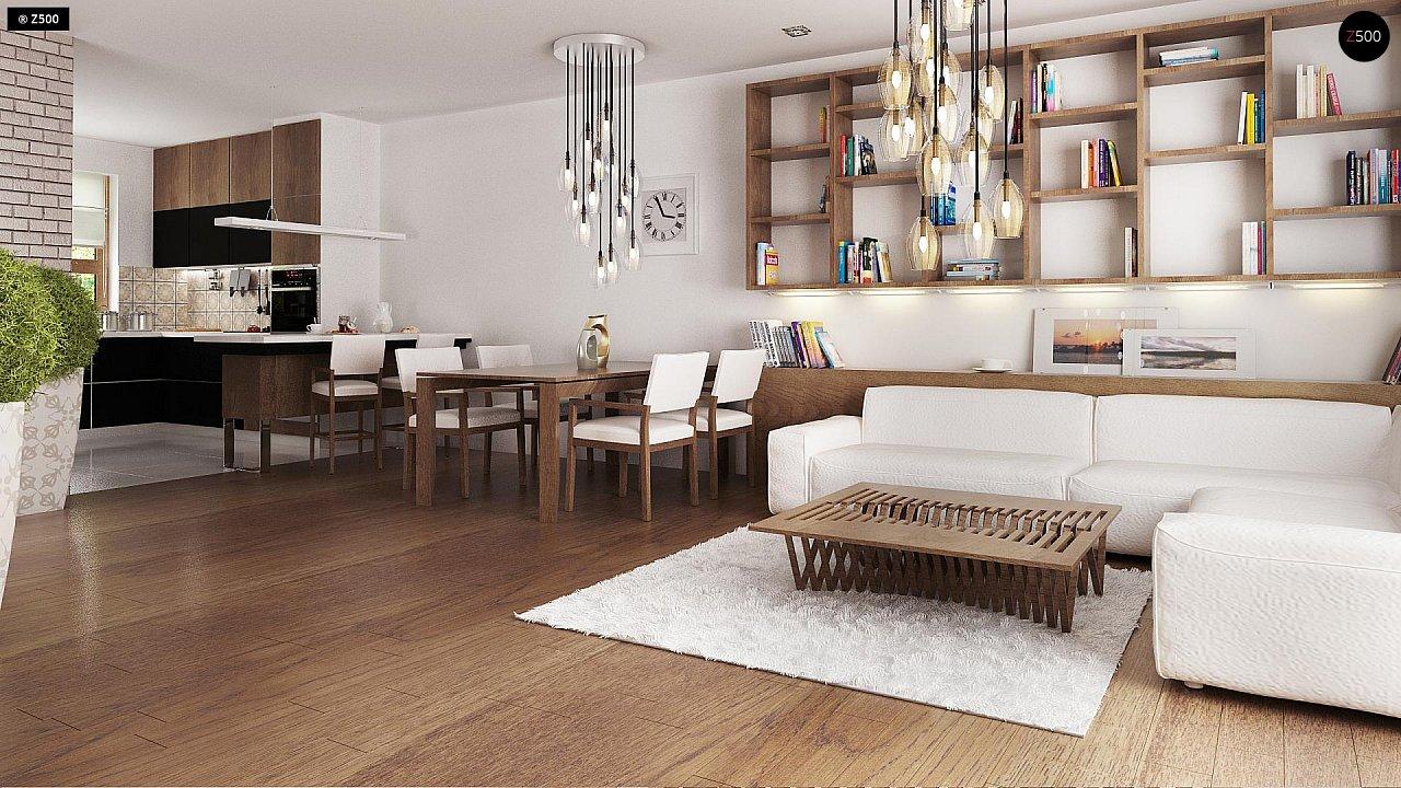 Практичный одноэтажный дом с большим гаражом, просторной гостиной и двумя спальнями. 6