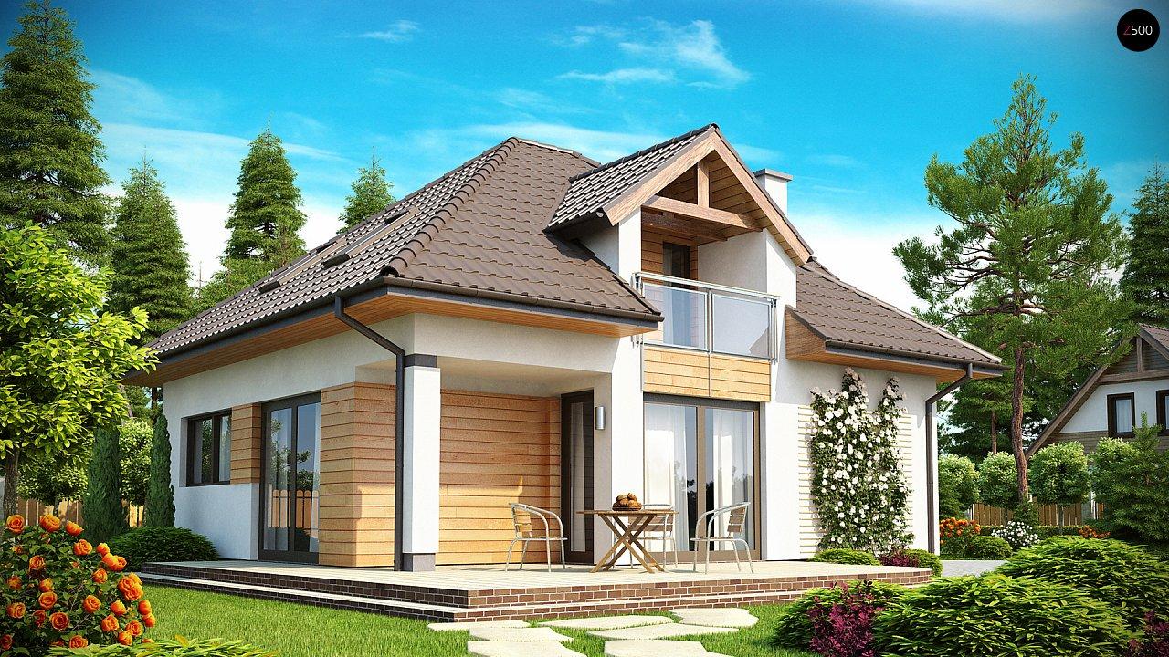 Проект практичного и уютного традиционного дома. 2