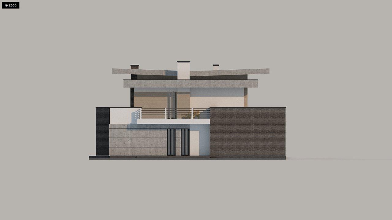 Красивый и комфортный дом с плоской кровлей, гаражом на две машины и просторными террасами. - фото 17