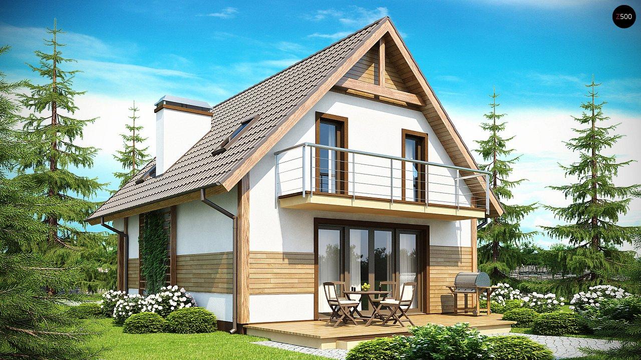 Предложение выгодного и практичного дома, подходящего для удлиненного или, наоборот, неглубокого участка. 1