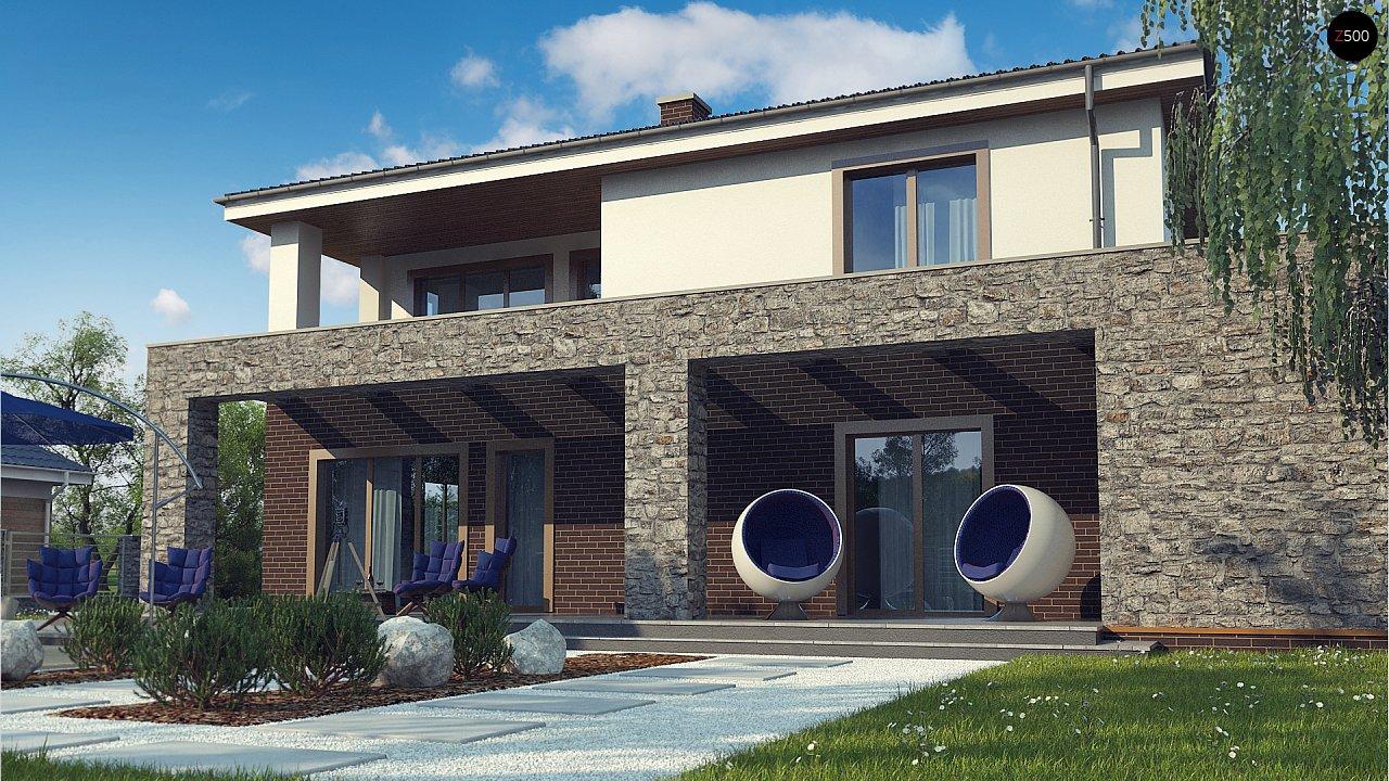Проект дома с сауной в традиционном стиле - фото 7