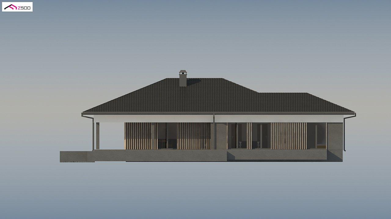 Проект стильного одноэтажного дома в традиционном стиле - фото 8