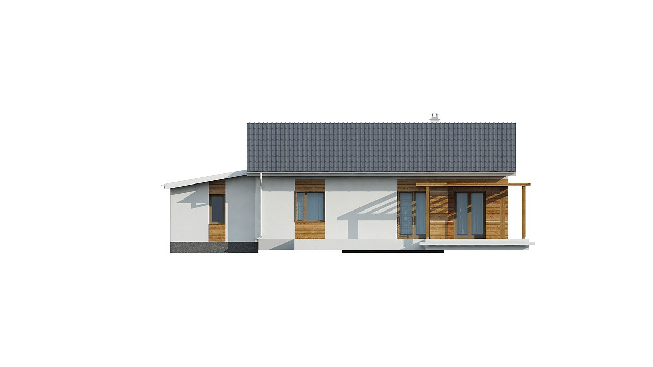 Версия проекта Z136 с гаражом. 15