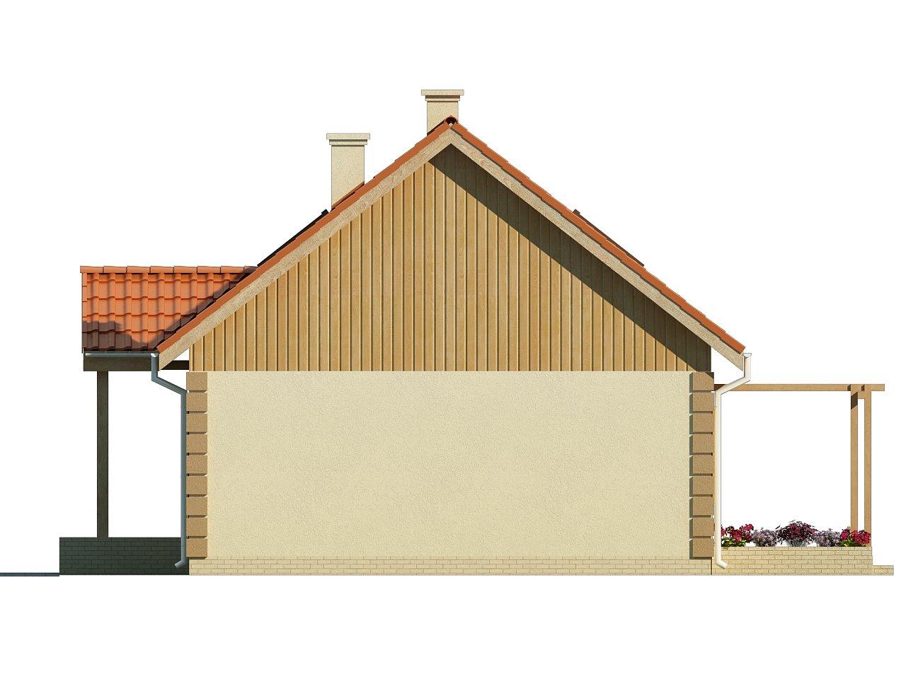 Функциональный и уютный дом с дополнительной спальней на первом этаже. Простой и экономичный в строительстве. 13