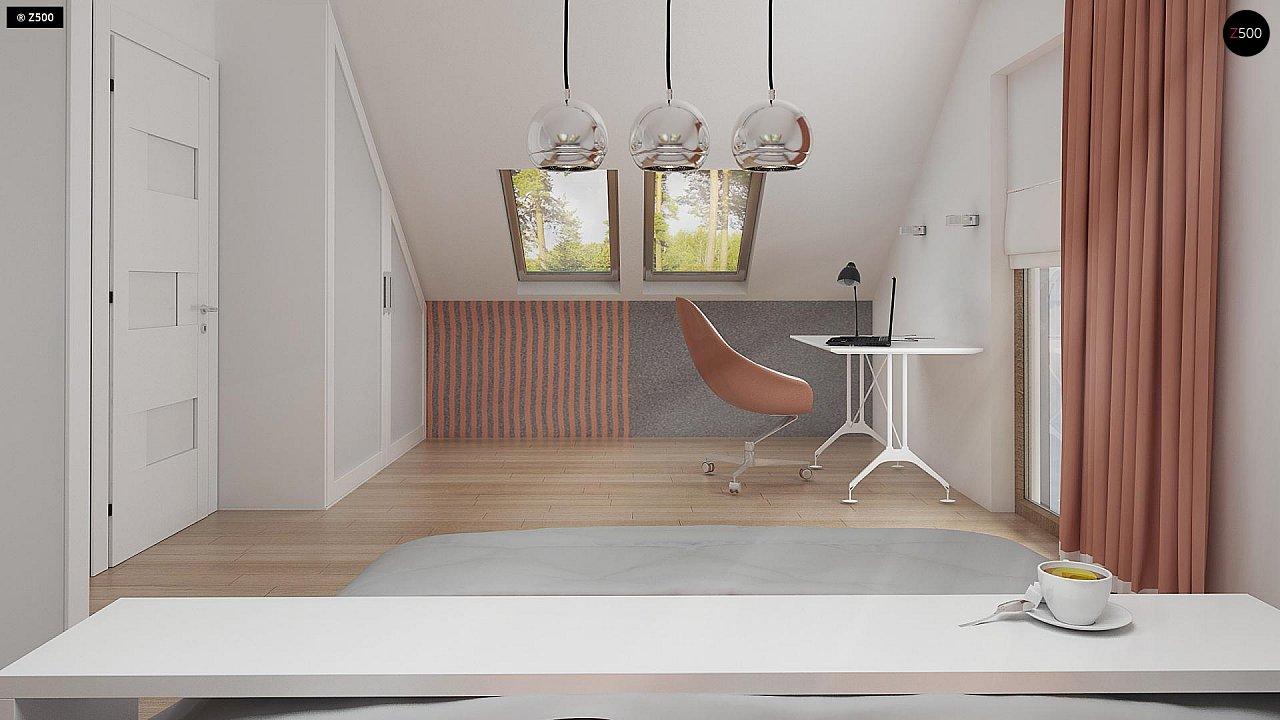Стильный современный дом с пятью спальнями и гаражом. 14