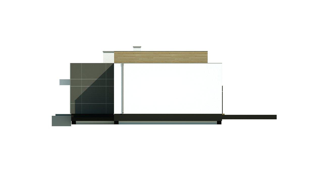 Одноэтажный дом в стиле современного минимализма 13