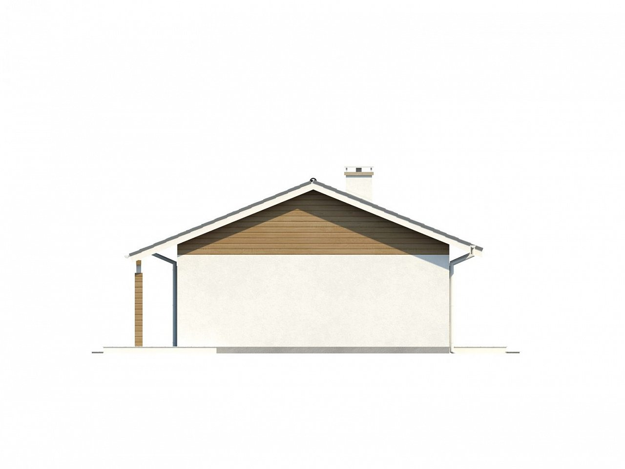 Функциональный и практичный проект дома Z7 в каркасном исполнении - фото 24