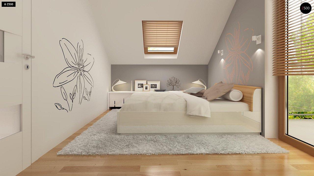 Компактный, аккуратный и стильный дом с двумя спальнями. - фото 11