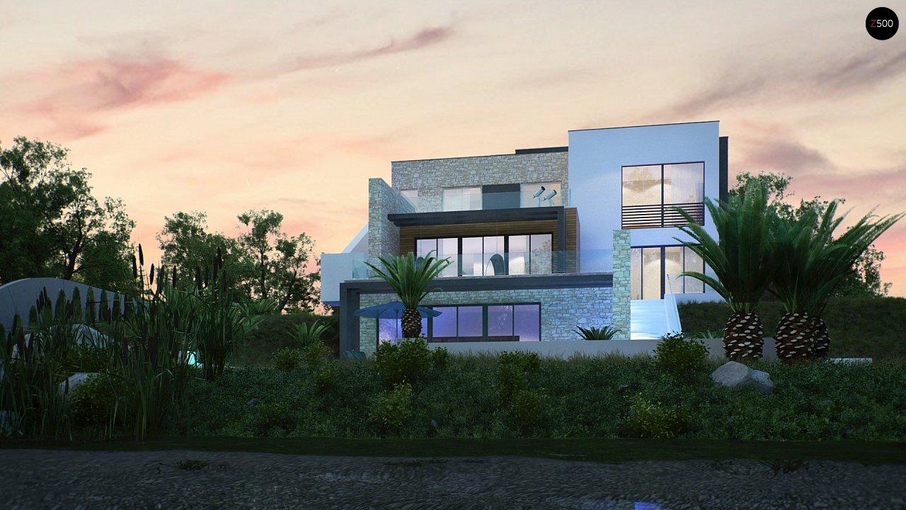 Трехэтажная современная резиденция с террасами и бассейном . 8