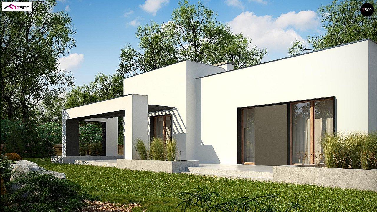 Современный дом минималистичного дизайна с подвалом - фото 5